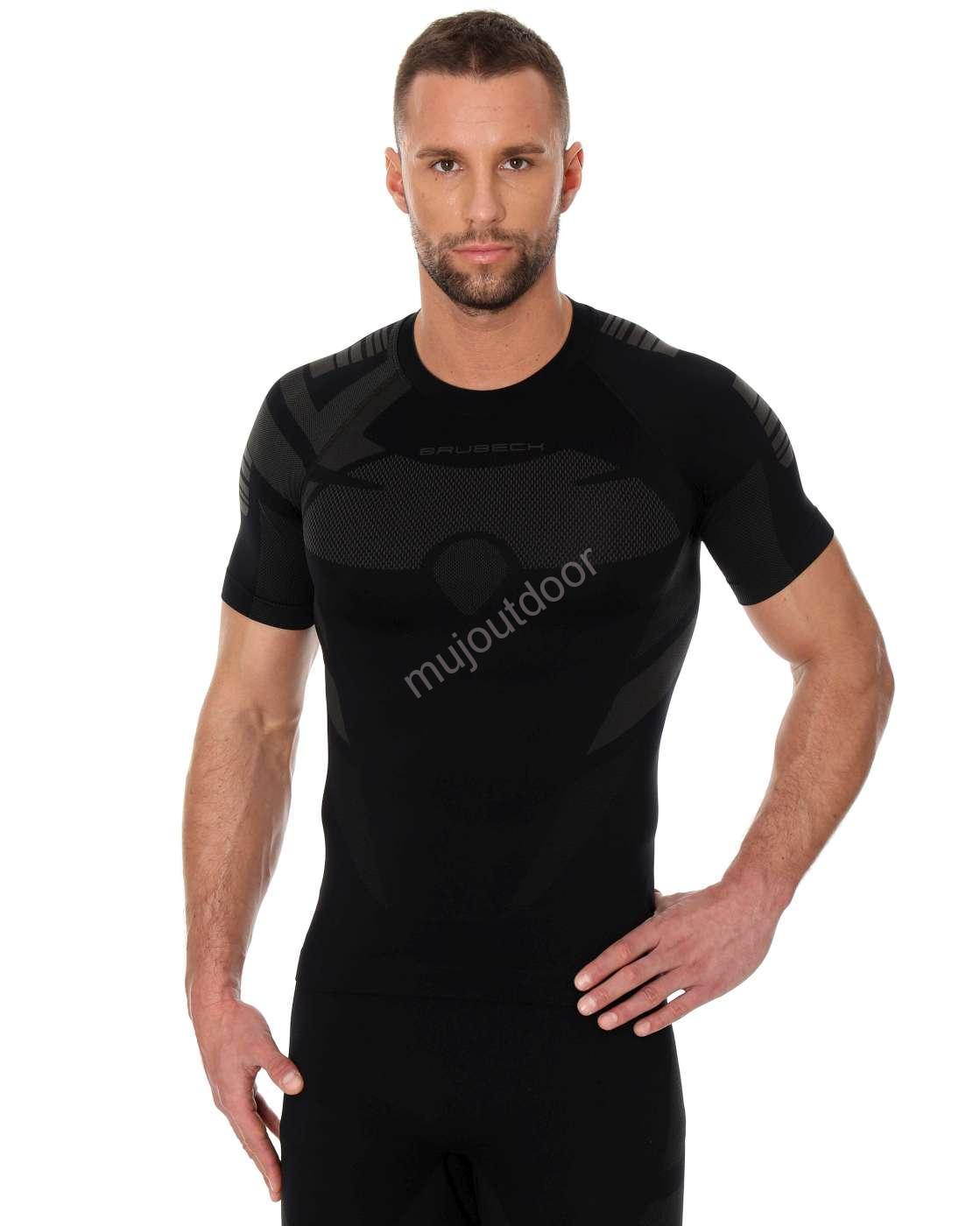 Brubeck pánské tričko s krátkým rukávem DRY a70a8ec834