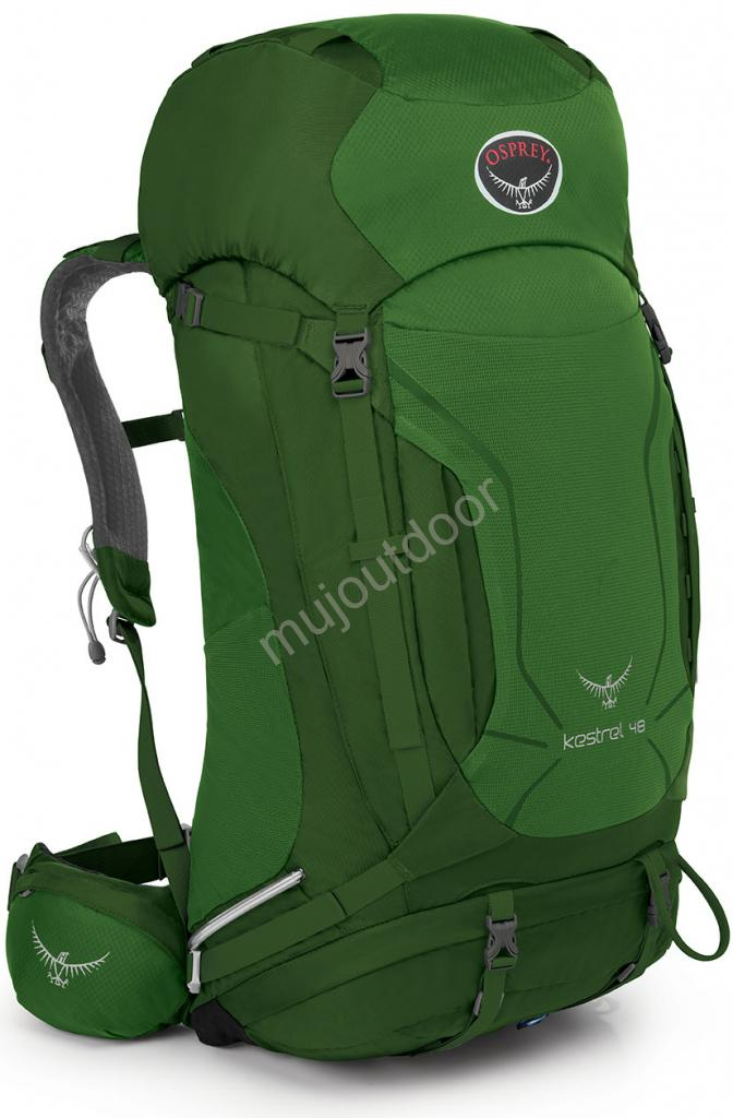 Osprey batoh Kestrel 48, Jungle Green