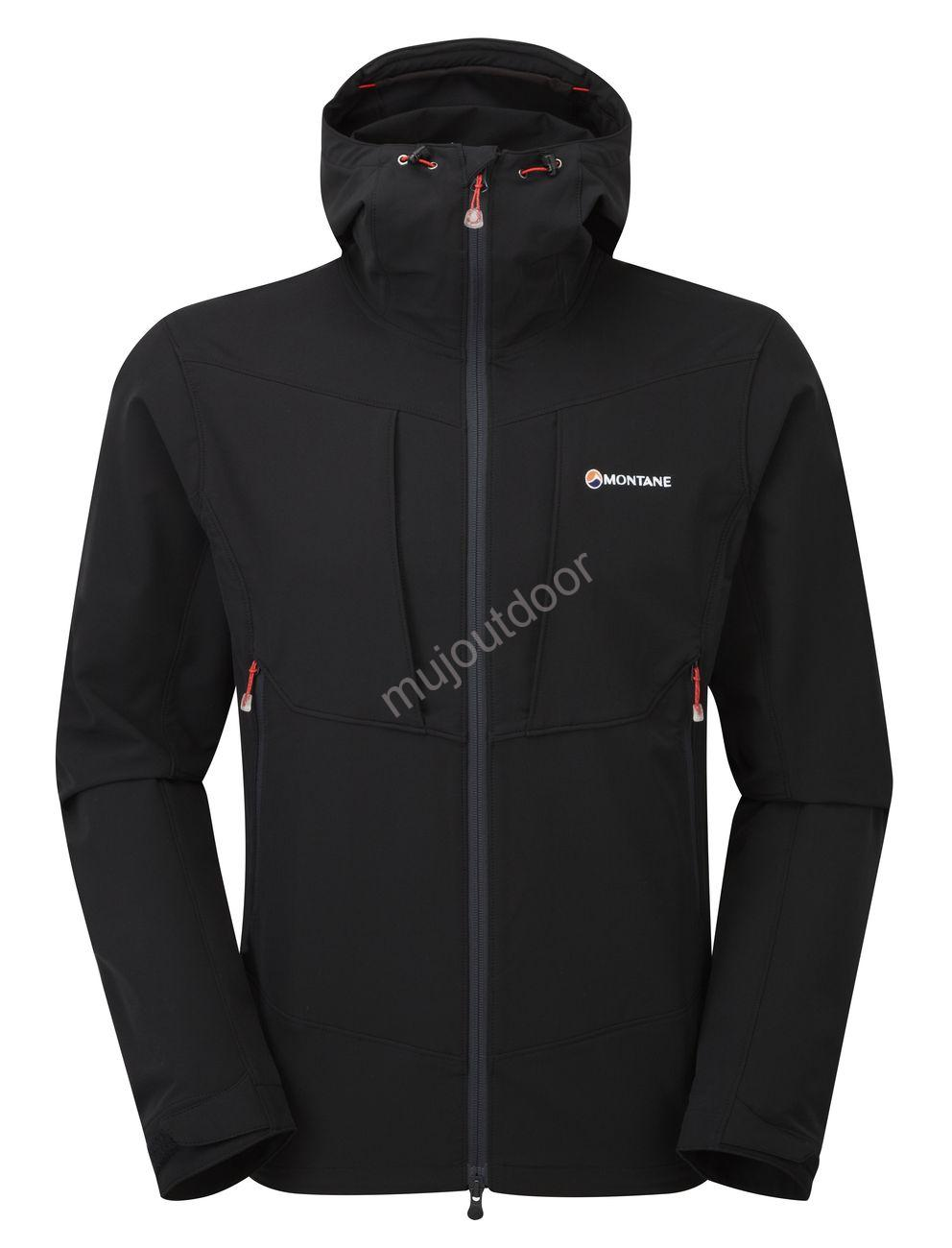 Montane bunda Dyno Stretch, Black
