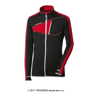 Progress mikina Spartan, Black Red