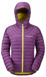 Montane bunda Featherlite Down Jacket - Dahlia