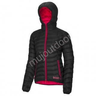 Ocun bunda Tsunami Down Jacket women brown/pink